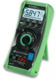 Gossen Metrawatt METRAHIT 2+ TRMS Digital Multimeter with Analog Bar Graph and Temperature Measuring Instrument