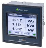 Gossen Metrawatt SIRAX MM1400 Programmable Unit for Heavy Current Monitoring with Display, TFT