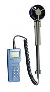 BK Precision 731A Anemometer with Wand Probe