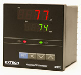 Extech 96VFL11 1/4 DIN Temperature PID Controller with Two Relay Outputs